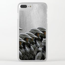 The Halo Army Clear iPhone Case