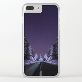 Road to Infinity Clear iPhone Case