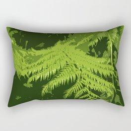 Forest Ferns Rectangular Pillow