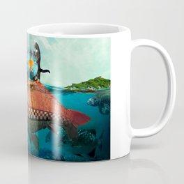 Fish Taxi Coffee Mug