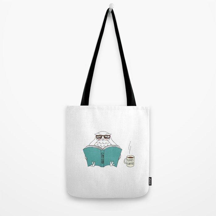 book owl Tote Bag