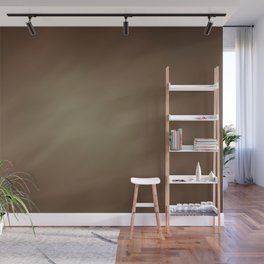 Abstract Watercolor Gradient Blend 2 Earthy Brown Tones Wall Mural