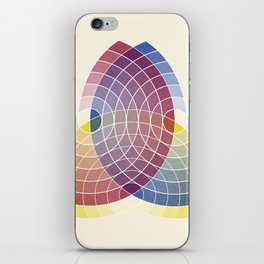 Charles Lacouture's Trilobe synoptique re-make 1890 iPhone Skin