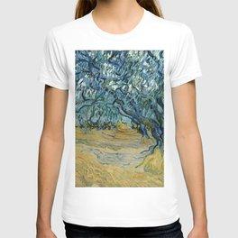 """Vincent Van Gogh """"The Olive Trees, Saint-Rémy"""" T-shirt"""