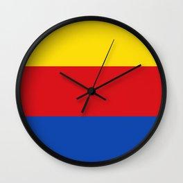 Flag of North Holland Wall Clock