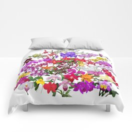 A celebration of orchids Comforters