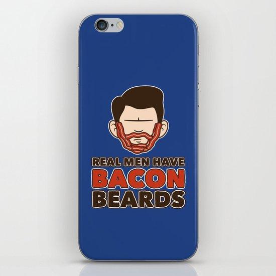 Bacon Beard (men's version) iPhone & iPod Skin