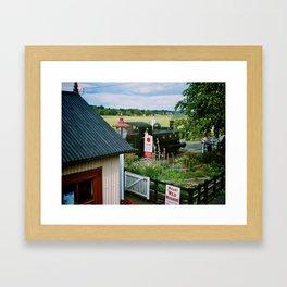 Bodiam Station, Kent & East Sussex Railway Framed Art Print