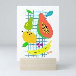 Tropical Fruits Mini Art Print