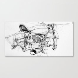 Italian Cruiser Canvas Print