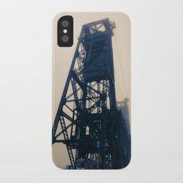 Steel Bridge, Portland, Oregon iPhone Case