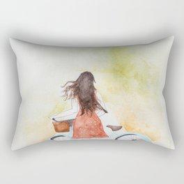 The Winding Road Rectangular Pillow