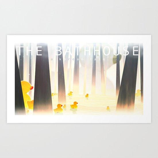The Bathhouse Art Print
