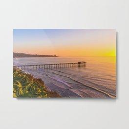 California Seaside Metal Print