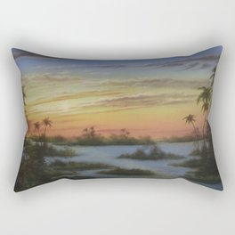 Out of the West Rectangular Pillow