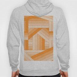 Orange Stripes Hoody