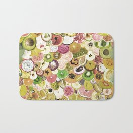 Fruit Madness (All The Fruits) Vintage Bath Mat