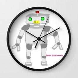clawed Robot Wall Clock
