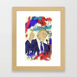 Trump Framed Art Print