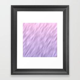 Ultra violet haze abstract texture design Framed Art Print
