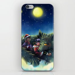 Snowy Wolf iPhone Skin