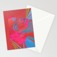If Your Skull Was Fushia Stationery Cards