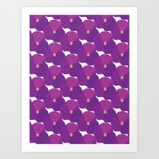 You're turning Violet, Violet Art Print