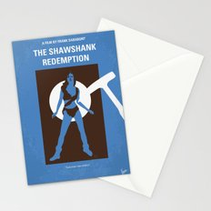 No246 My THE SHAWSHANK REDEMPTION minimal movie poster Stationery Cards