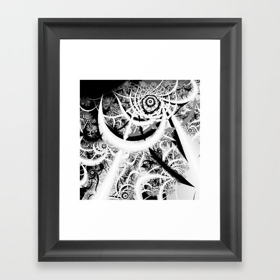 Through the Void Framed Art Print