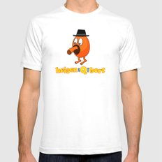 HeisenQbert SMALL White Mens Fitted Tee