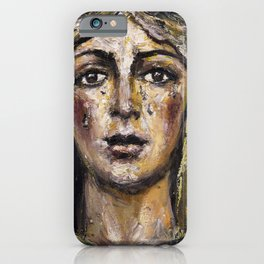 Macarena of mourning iPhone Case