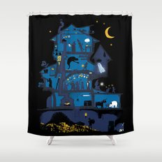 Wizard's Castle Shower Curtain