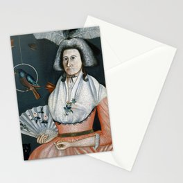 Rufus Hathaway Lady with Her Pets (Molly Wales Fobes) Stationery Cards