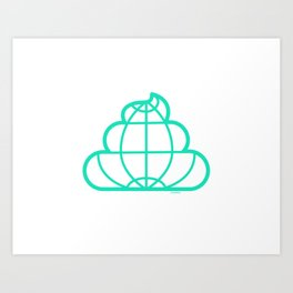 Shit world Art Print