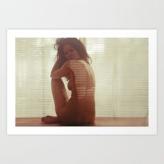 Fantasme Erotique - nude art, erotic photography Art Print