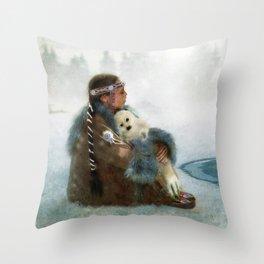 Sing You a Lullabye Throw Pillow