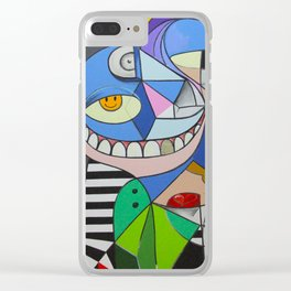 Smile to the life. But do not forget to smile for death too. Clear iPhone Case