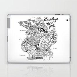 Brooklyn Map Laptop & iPad Skin