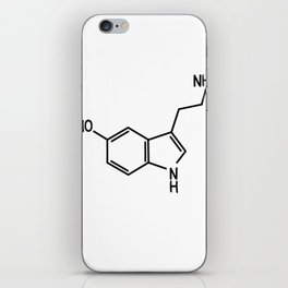 Serotonin iPhone Skin