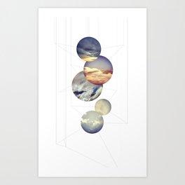 Mobile Sky Art Print