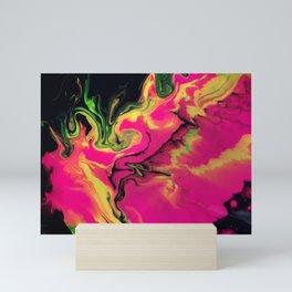 Cosmic Avalanche Mini Art Print