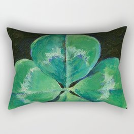 Shamrock Rectangular Pillow