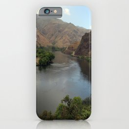 Snake River Near Hells Canyon iPhone Case