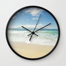 kapalua beach maui hawaii Wall Clock