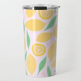 Pink Lemonade II Travel Mug