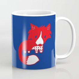 Midnight fox cub Coffee Mug