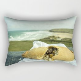 Perranporth Pasty  Rectangular Pillow