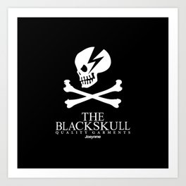THE BLACKSKULL Art Print