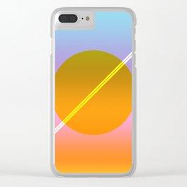 Verano I Clear iPhone Case