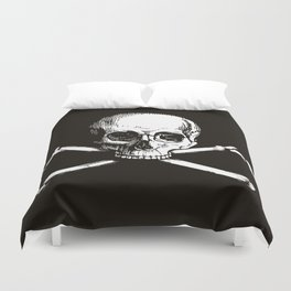 Skull and Crossbones | Jolly Roger Duvet Cover